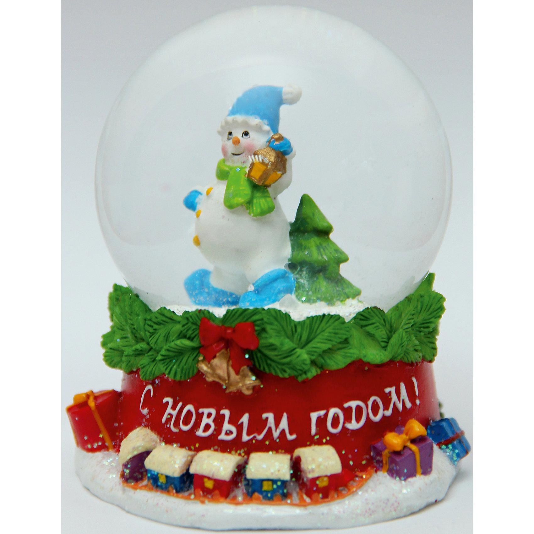 Новогодняя фигурка Снеговик с фонарем (7,5*7,5*8,4см, из полирезины с водяным шаром из стекла)Новогодние свечи и подсвечники<br>Новогодняя фигурка Снеговик с фонаремарт. 38357 (7,5*7,5*8,4см, из полирезины с водяным шаром из стекла)<br><br>Ширина мм: 120<br>Глубина мм: 80<br>Высота мм: 80<br>Вес г: 306<br>Возраст от месяцев: 60<br>Возраст до месяцев: 600<br>Пол: Унисекс<br>Возраст: Детский<br>SKU: 5144538
