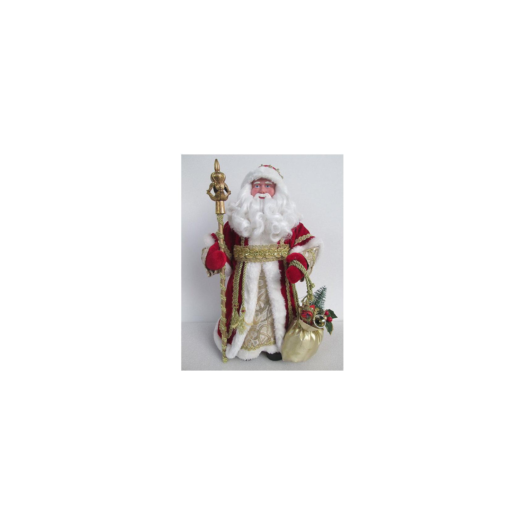 Новогодняя фигурка Дед Мороз в красном костюме (30см, из пластика и ткани)Новогодние сувениры<br>Новогодняя фигурка Дед Мороз в красном костюме арт.39095 (30см, из пластика и ткани) арт.39095<br><br>Ширина мм: 150<br>Глубина мм: 95<br>Высота мм: 310<br>Вес г: 323<br>Возраст от месяцев: 60<br>Возраст до месяцев: 600<br>Пол: Унисекс<br>Возраст: Детский<br>SKU: 5144552