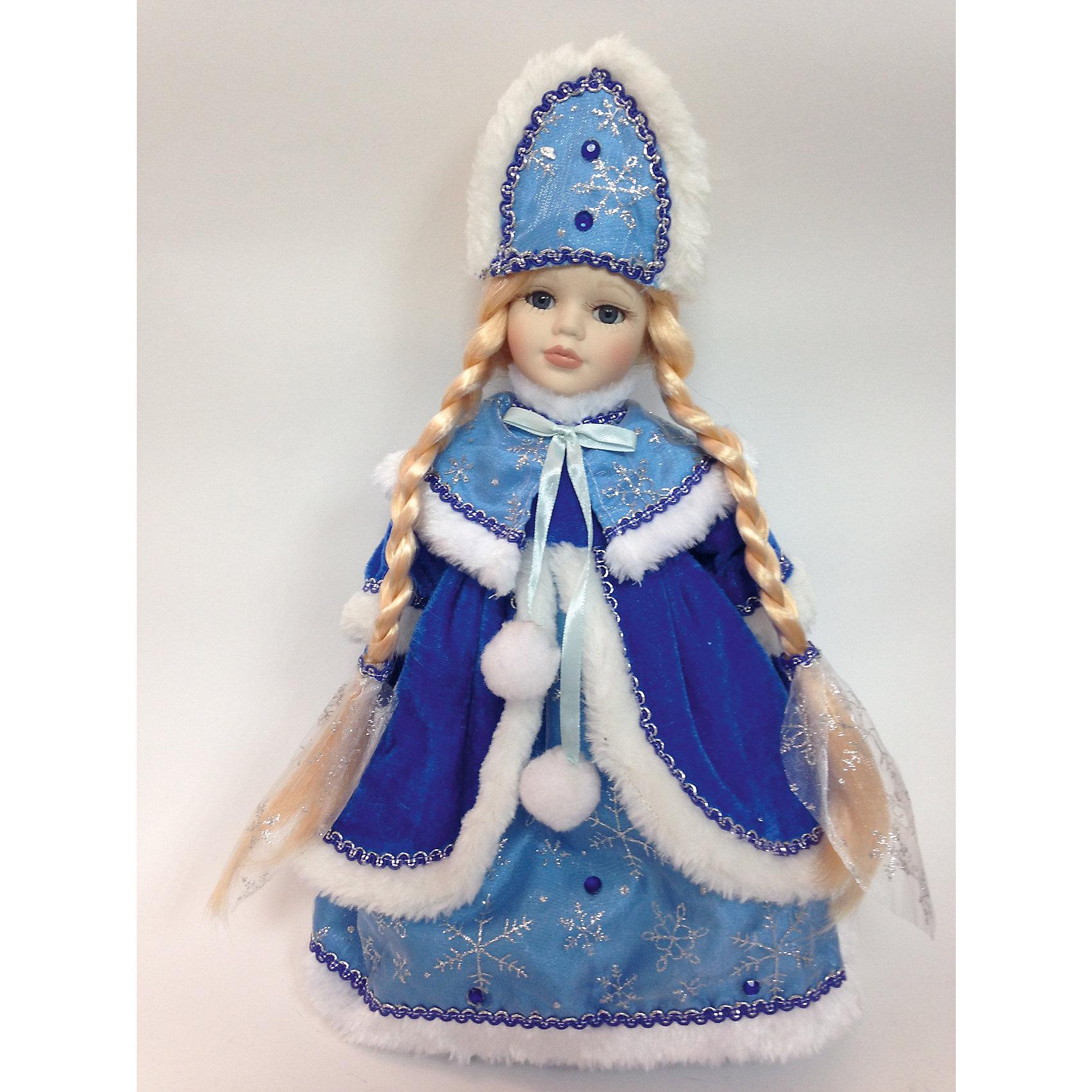 Декоративная кукла Снегурочка Мариша, (30см, на подставке)Кукла декор. арт.41685 Снегурочка Мариша, (30см, на подставке, тело мягкое набивное; голова, руки и ноги - керамические) / 30 арт.41685<br><br>Ширина мм: 380<br>Глубина мм: 140<br>Высота мм: 90<br>Вес г: 600<br>Возраст от месяцев: 60<br>Возраст до месяцев: 600<br>Пол: Унисекс<br>Возраст: Детский<br>SKU: 5144553