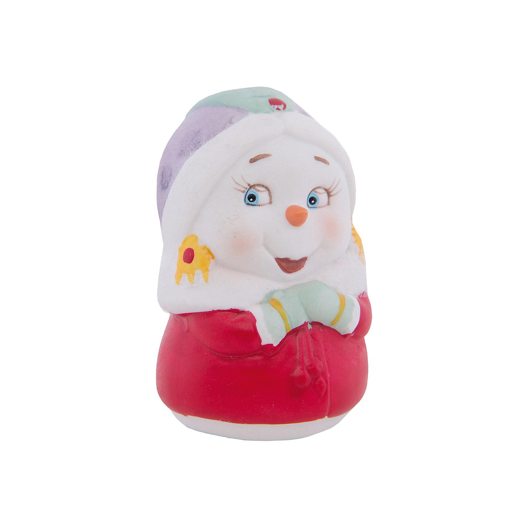 Феникс-Презент Новогодняя фигурка снеговика Снеговик-девушка колесная газонокосилка champion lm 4622