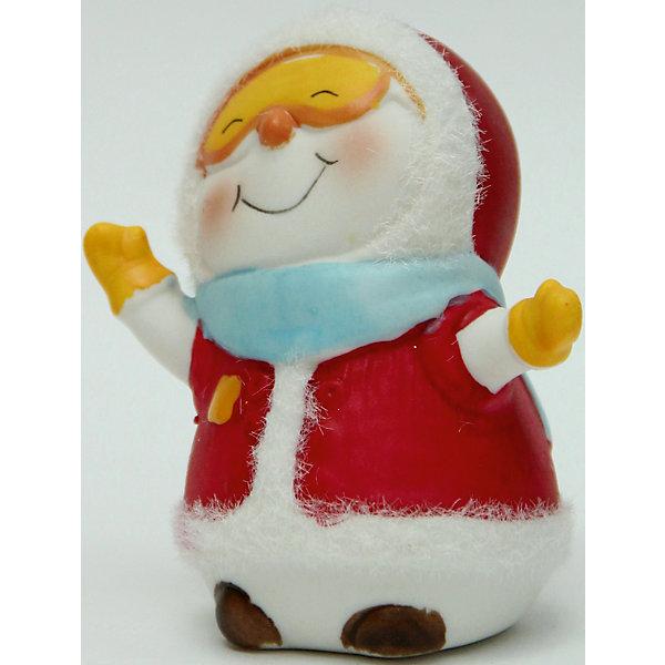 Фигурка Снеговик - лыжник 8 см, керамикаНовогодние сувениры<br>Новогодняя фигурка снеговика Снеговик - лыжник арт.38346 (8см, керамика)<br><br>Ширина мм: 70<br>Глубина мм: 60<br>Высота мм: 100<br>Вес г: 114<br>Возраст от месяцев: 60<br>Возраст до месяцев: 600<br>Пол: Унисекс<br>Возраст: Детский<br>SKU: 5144563