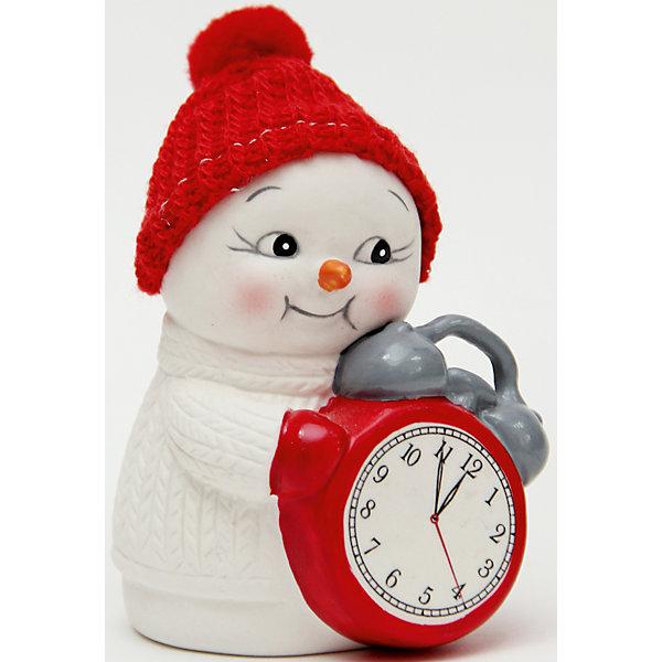 Новогодняя фигурка снеговика Снеговик и часы  (8см, керамика)Новогодние сувениры<br>Новогодняя фигурка снеговика Снеговик и часы  арт.41749 (8см, керамика) / 8 арт.41749<br><br>Ширина мм: 55<br>Глубина мм: 60<br>Высота мм: 80<br>Вес г: 126<br>Возраст от месяцев: 60<br>Возраст до месяцев: 600<br>Пол: Унисекс<br>Возраст: Детский<br>SKU: 5144565