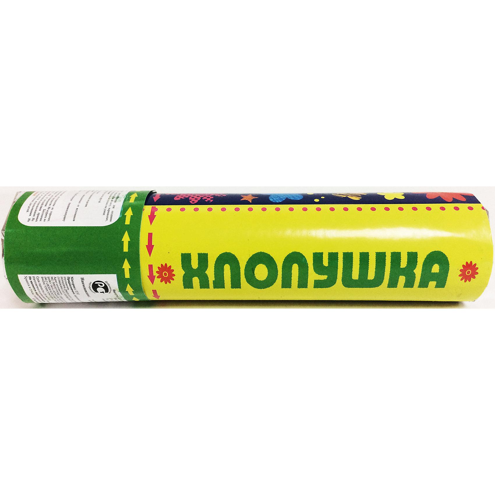 Праздничная пневмохлопушка  (20см, с наполнителем из  разноцветного конфетти из ПВХ в форме цветочков)Всё для праздника<br>Праздничная пневмохлопушка арт.38747 (20см, на основе сжатого воздуха с наполнителем из  разноцветного конфетти из ПВХ в ФОРМЕ ЦВЕТОЧКОВ) / 20см арт.38747<br><br>Ширина мм: 200<br>Глубина мм: 50<br>Высота мм: 50<br>Вес г: 132<br>Возраст от месяцев: 60<br>Возраст до месяцев: 600<br>Пол: Унисекс<br>Возраст: Детский<br>SKU: 5144570