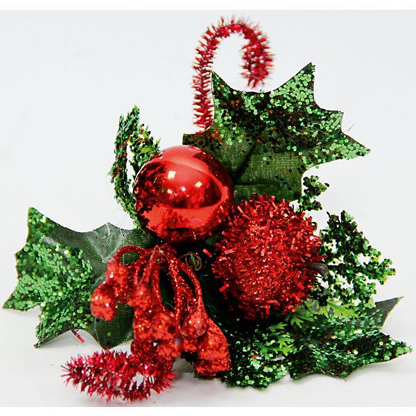 Украшение Красное яблоко с лепестками на клипсеЁлочные игрушки<br>Украшение новогоднее Яблоко Красное с  Лепестками арт.42497 из пвх на клипсе / 12x9<br><br>Ширина мм: 120<br>Глубина мм: 90<br>Высота мм: 10<br>Вес г: 20<br>Возраст от месяцев: 60<br>Возраст до месяцев: 600<br>Пол: Унисекс<br>Возраст: Детский<br>SKU: 5144581