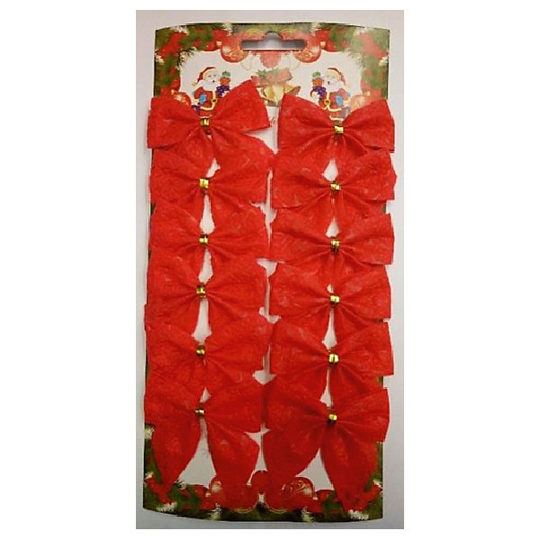 Новогоднее украшение Бант (красная парча)Ёлочные игрушки<br>Украшение новогоднее БАНТ Красная парча арт.42763 / 5х5<br><br>Ширина мм: 130<br>Глубина мм: 280<br>Высота мм: 5<br>Вес г: 30<br>Возраст от месяцев: 60<br>Возраст до месяцев: 600<br>Пол: Унисекс<br>Возраст: Детский<br>SKU: 5144587