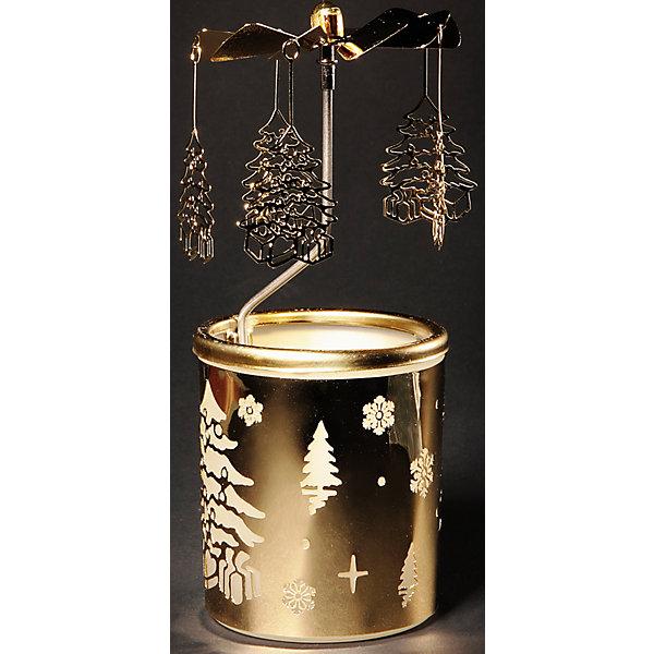 Подсвечник из металла 6,5*14,5 смНовогодние свечи и подсвечники<br>Новогодний декоративный подсвечник-31430 из черного окрашенного металла (6,5*14,5 см)<br><br>Ширина мм: 65<br>Глубина мм: 145<br>Высота мм: 65<br>Вес г: 250<br>Возраст от месяцев: 60<br>Возраст до месяцев: 600<br>Пол: Унисекс<br>Возраст: Детский<br>SKU: 5144600