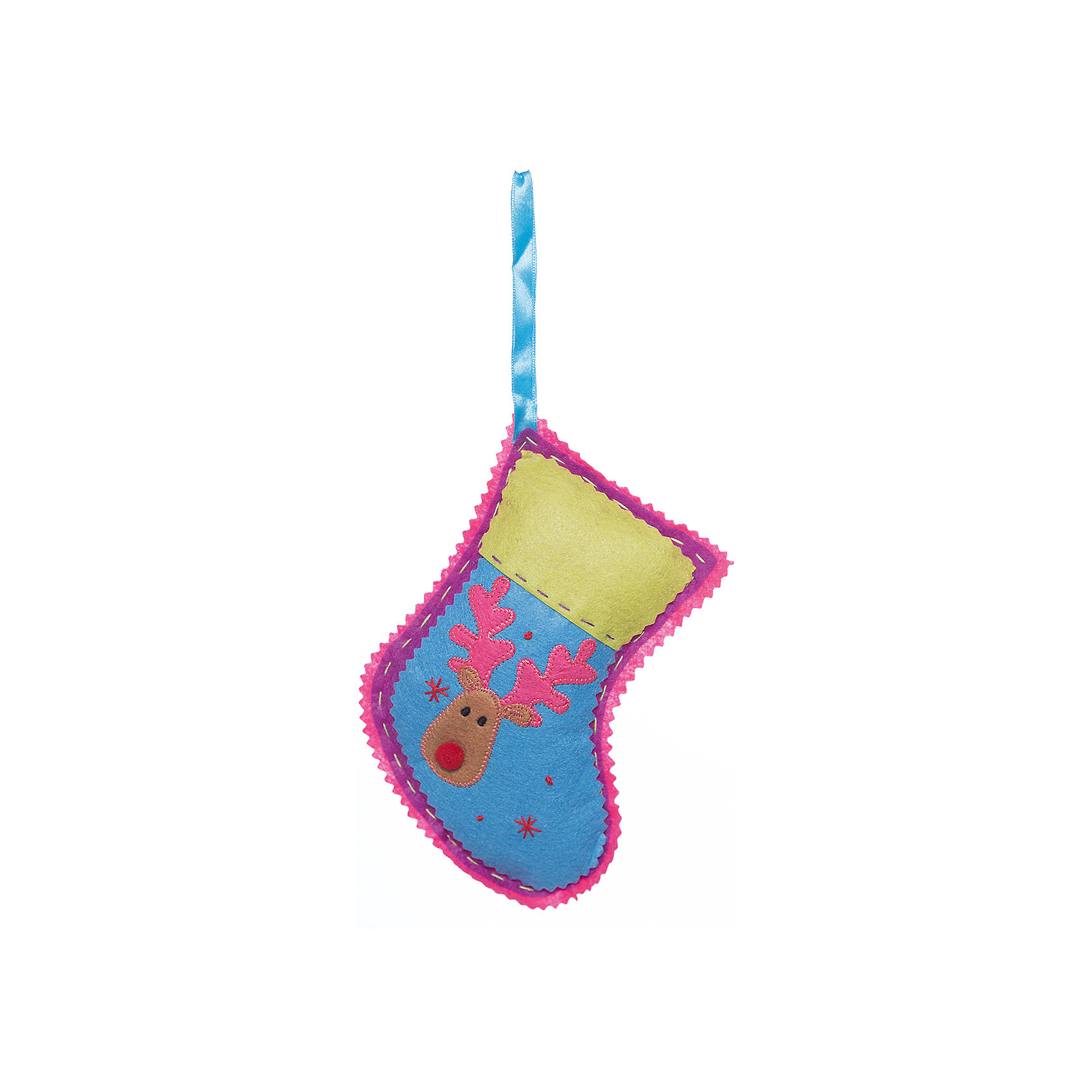 Украшение из ткани Носок 18 смВсё для праздника<br>Новогоднее подвесное украшение из ткани-25342 (полиэстер) Носок 18 см<br><br>Ширина мм: 180<br>Глубина мм: 20<br>Высота мм: 100<br>Вес г: 27<br>Возраст от месяцев: 60<br>Возраст до месяцев: 600<br>Пол: Унисекс<br>Возраст: Детский<br>SKU: 5144620