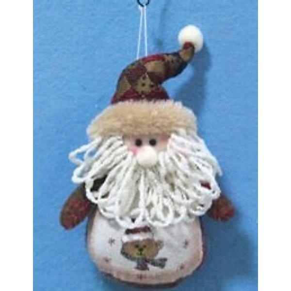 Новогоднее подвесное украшение (полиэстер)Ёлочные игрушки<br>Новогоднее подвесное украшение арт.30794(полиэстер) / 13<br><br>Ширина мм: 130<br>Глубина мм: 100<br>Высота мм: 50<br>Вес г: 82<br>Возраст от месяцев: 60<br>Возраст до месяцев: 600<br>Пол: Унисекс<br>Возраст: Детский<br>SKU: 5144622
