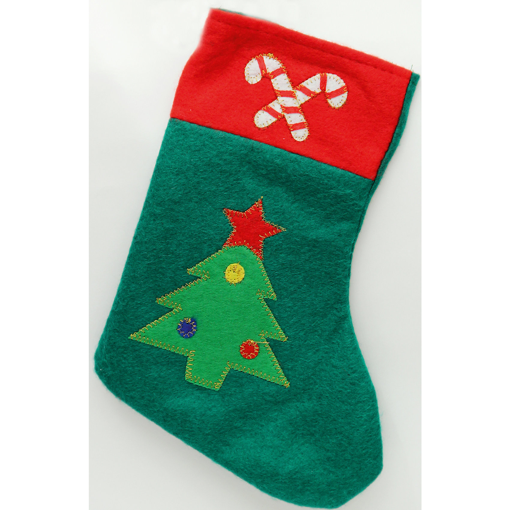 Феникс-Презент Новогоднее подвесное украшение (фетр) новогоднее подвесное украшение феникс презент кленовый лист
