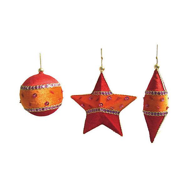 Купить Набор Елочные украшения с подвеской 11 см, Феникс-Презент, Китай, Унисекс