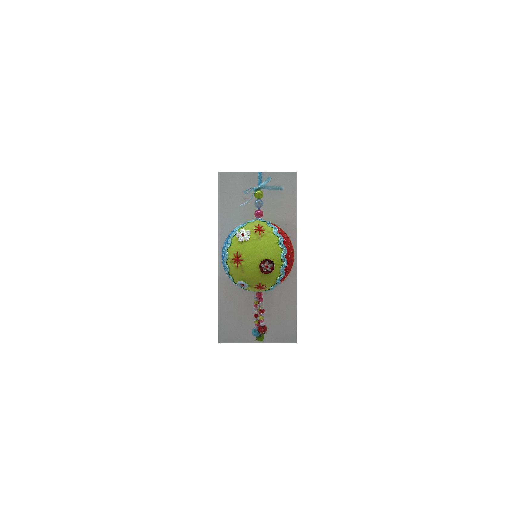 Феникс-Презент Новогоднее подвесное украшение Шар (полиэстер)  8 см новогоднее подвесное украшение собака ф21 1716