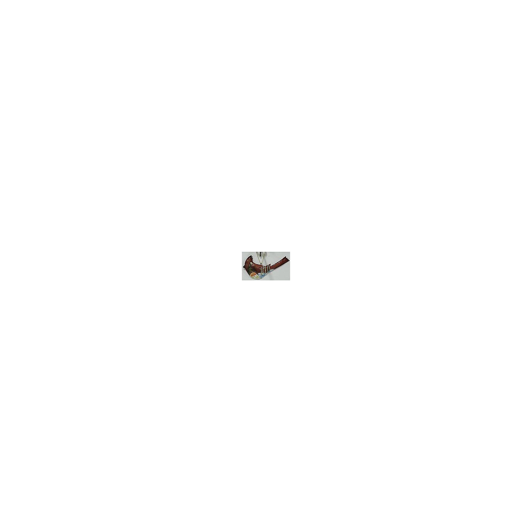 Феникс-Презент Новогоднее подвесное украшение (14x0,99х7,5см, окрашенный черный металл) новогоднее подвесное украшение феникс презент кленовый лист