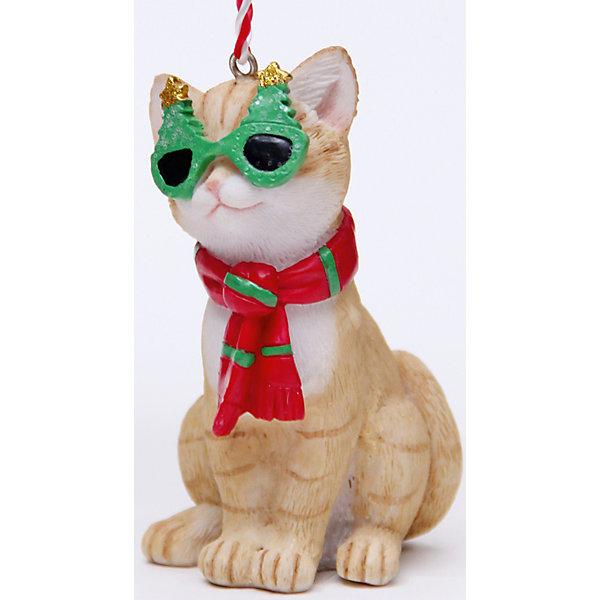 Украшение Кот в шарфике 5*4,5*8,5 смЁлочные игрушки<br>Украшение новогоднее подвесное КОТ В ШАРФИКЕ арт.41952 из полирезины / 5х4,5х8,5<br><br>Ширина мм: 50<br>Глубина мм: 60<br>Высота мм: 100<br>Вес г: 87<br>Возраст от месяцев: 60<br>Возраст до месяцев: 600<br>Пол: Унисекс<br>Возраст: Детский<br>SKU: 5144695