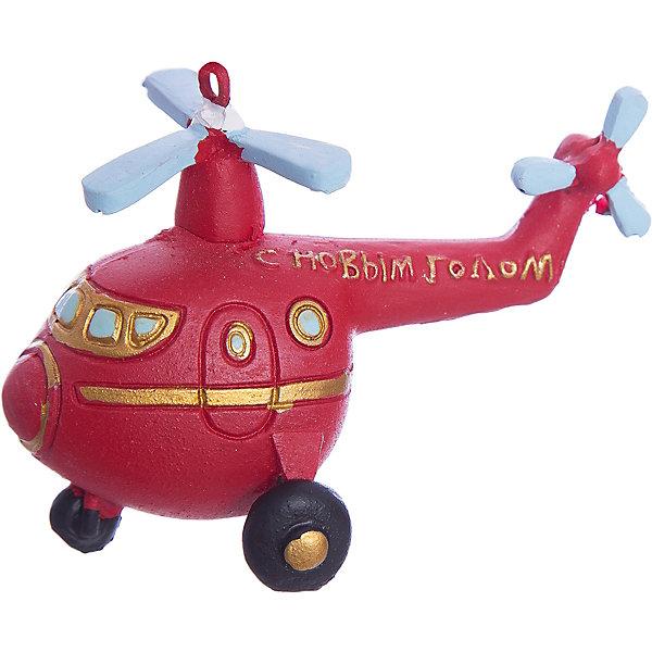 Украшение Вертолет 8*5*6 смЁлочные игрушки<br>Новогоднее подвесн.украш. Вертолет арт.34582/4 (8*5*6 см, из полирезины) арт.34582<br><br>Ширина мм: 80<br>Глубина мм: 50<br>Высота мм: 60<br>Вес г: 77<br>Возраст от месяцев: 60<br>Возраст до месяцев: 600<br>Пол: Унисекс<br>Возраст: Детский<br>SKU: 5144707