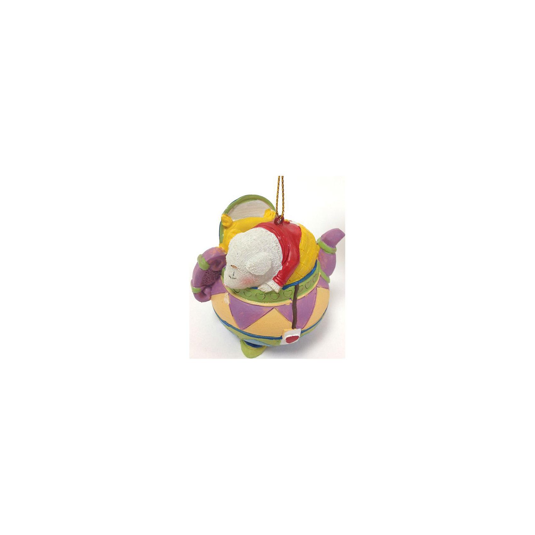 Феникс-Презент Новогоднее подвесное украшение (7.7*6.5*7.1см, из полирезины) феникс презент новогоднее подвесное украшение 6 6 4 6 4 5см из полирезины