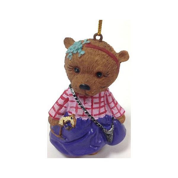 Украшение Мишка в юбочке 6*5*8 смЁлочные игрушки<br>Новогоднее подвесн. украш. Мишка в юбочке арт.38312 (6*5*8см, из полирезины) / 6*5*8см арт.38312<br><br>Ширина мм: 60<br>Глубина мм: 60<br>Высота мм: 90<br>Вес г: 49<br>Возраст от месяцев: 60<br>Возраст до месяцев: 600<br>Пол: Унисекс<br>Возраст: Детский<br>SKU: 5144728