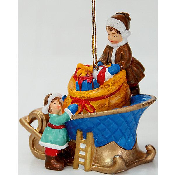 Украшение  7,5*6,2*8,2 смЁлочные игрушки<br>Новогоднее подвесн.украш. арт 38324 (7.5*6.2*8.2см, из полирезины) /7.5*6.2*8.2cm арт.38324<br><br>Ширина мм: 80<br>Глубина мм: 65<br>Высота мм: 85<br>Вес г: 97<br>Возраст от месяцев: 60<br>Возраст до месяцев: 600<br>Пол: Унисекс<br>Возраст: Детский<br>SKU: 5144738