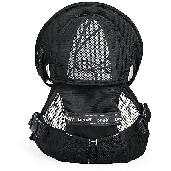 Рюкзачок для переноски детей Pod (015/258), Brevi, черныйРюкзаки-переноски<br>Характеристики рюкзачка для переноски детей Brevi Pod: <br><br>- вес: 1,9 кг<br>- вес упаковки: 0,4 кг<br>- размер упаковки: 37*42*27 см<br>- объем упаковки: 0,043 м3<br>- минимальный вес ребенка: 3,5 кг.<br><br>Рюкзачок для переноски детей торговой марки Brevi Pod для переноски детей будет заботиться о спине мамы. У рюкзака инновационная система распределения нагрузки на спину, имеющая новые точки опоры под мышкой и на плечи, она поглощает 60% веса Вашего малыша. Таким образом Вы сможете долго носить малыша в рюкзачке. У изделия имеются эргономичные ремни, которые регулируют рюкзак. Рюкзак  терморегулирующийся, воздухопроницаемый. Обивка не повредит нежной кожи малыша, так как выполнена из мягкого материала с органическими волокнами. Ткань изделия не содержит вредных веществ, не вызывает аллергии. Подходит для детей от 3,5 кг (с рождения) до 3-4 лет.<br><br>Рюкзачок для переноски детей торговой марки Brevi Pod можно купить в нашем интернет-магазине.<br>Ширина мм: 275; Глубина мм: 375; Высота мм: 420; Вес г: 2300; Возраст от месяцев: 0; Возраст до месяцев: 36; Пол: Унисекс; Возраст: Детский; SKU: 5144749;