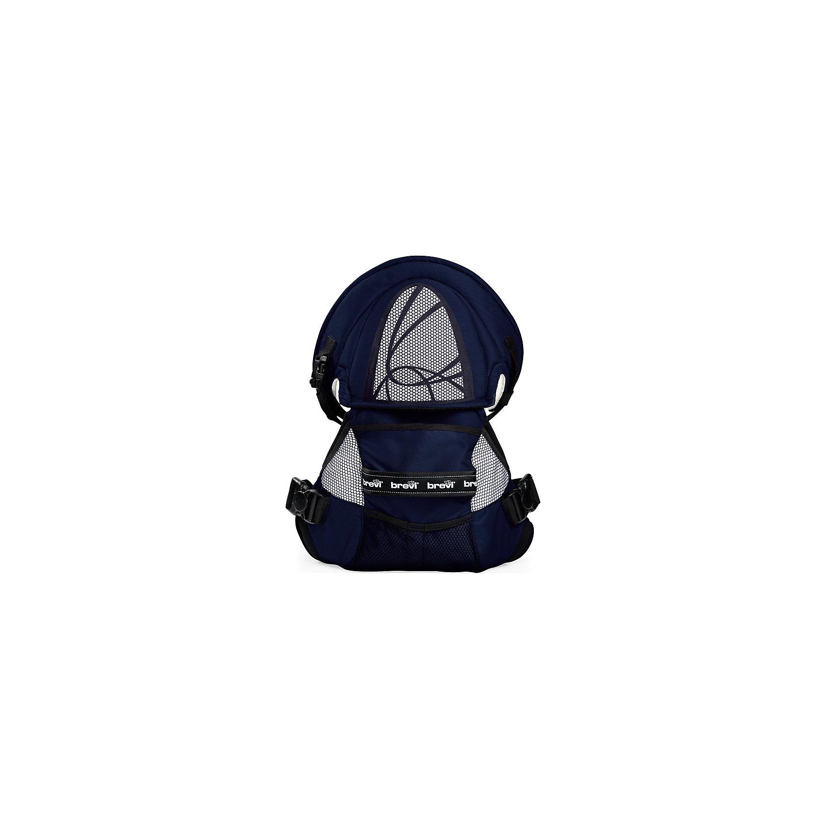brevi Рюкзачок для переноски детей Pod (015/239), Brevi, темно-синий ванна детская brevi 566 064