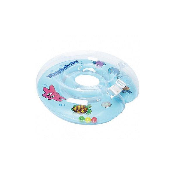 Круг на шею Mambobaby 0-24 мес, Mambobaby, голубойТовары для купания<br>Характеристики круга на шею Mambobaby: <br><br>- вид упаковки: коробка<br>- количество элементов: 1<br>- внутренний диаметр: 90*105<br>- внешний диаметр: 280*310<br>- возраст ребенка: 0-24/6-36<br>- вес ребенка: до 18/до 22<br>- страна производитель: Тайвань<br>- страна бренда Россия, Mambobaby<br>- состоит из 2-х камер. Если с одной что-то произойдет, другая удержит ребенка на плаву и позволит продолжить купание;<br>- специальная выемка на подбородке предотвращает соскальзывание;<br>- пластиковая застежка на верхней камере круга;<br>- прочная липучка на нижней камере круга;<br>- обеспечивает безопасность во время купания;<br>- рассчитан на вес ребенка до 18 кг;<br>- размер: внутренний диаметр - 9 см, внешний диаметр - 28 см.<br>- материал: ПВХ.<br>- цвет: голубой<br>- в комплекте: круг, ручной насос.<br><br>Хотите купать ребенка максимально просто, чтобы купание доставляло удовольствие и приносило пользу? В этом Вам поможет красивый и практичный круг на шею для купания торговой марки Mambobaby. Внутренний конур имеет всего 9см, а значит он не буде давить ребенку на шею, но и не позволит ему выскользнуть из круга. Кроме того, ребенок дополнительно фиксируется дополнительной выемкой для подбородка.<br>На круге имеются ручки, за которые очень удобно катать малыша по воде или просто придерживать его.<br><br>Круг на шею торговой марки Mambobaby можно купить в нашем интернет-магазине.<br><br>Ширина мм: 250<br>Глубина мм: 250<br>Высота мм: 150<br>Вес г: 600<br>Возраст от месяцев: 0<br>Возраст до месяцев: 24<br>Пол: Унисекс<br>Возраст: Детский<br>SKU: 5144757