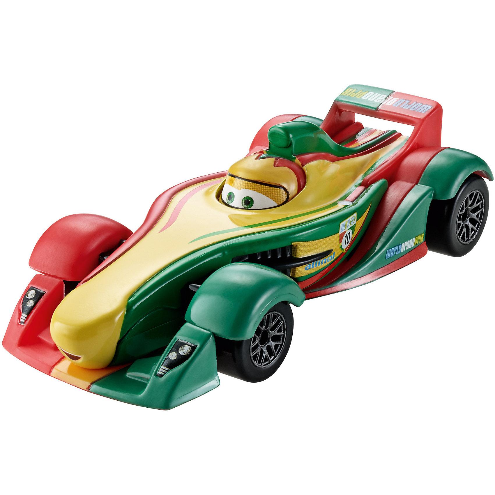Литая машинка, Тачки-2Литая машинка Делюкс от компании «Mattel» выполнена в виде главного персонажа мультфильма «Тачки 2». Изготовленная из металла в масштабе 1:55 игрушка отличается высокой степенью детализации и качеством исполнения. Завладев несколькими моделями, малыш сможет окунуться в любимый мультипликационный мир, устроить красочные показательные выступления среди машинок-киногероев.<br><br>Дополнительная информация:<br><br>- Материал: металл<br>- В упаковке: 1 шт.<br>- Размер машинки: 8 см.<br><br>Литую машинку, Тачки-2 можно купить в нашем магазине.<br><br>Ширина мм: 135<br>Глубина мм: 45<br>Высота мм: 160<br>Вес г: 80<br>Возраст от месяцев: 36<br>Возраст до месяцев: 72<br>Пол: Мужской<br>Возраст: Детский<br>SKU: 5146051