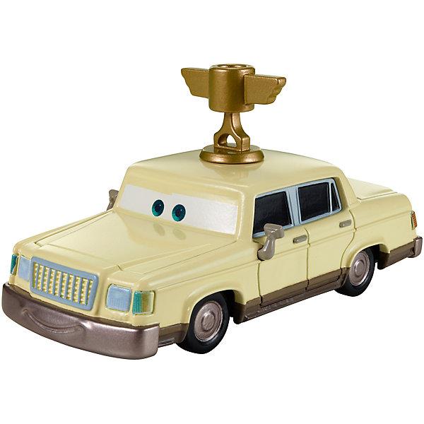 Литая машинка, Тачки-2Машинки<br>Литая машинка Делюкс от компании «Mattel» выполнена в виде главного персонажа мультфильма «Тачки 2». Изготовленная из металла в масштабе 1:55 игрушка отличается высокой степенью детализации и качеством исполнения. Завладев несколькими моделями, малыш сможет окунуться в любимый мультипликационный мир, устроить красочные показательные выступления среди машинок-киногероев.<br><br>Дополнительная информация:<br><br>- Материал: металл<br>- В упаковке: 1 шт.<br>- Размер машинки: 8 см.<br><br>Литую машинку, Тачки-2 можно купить в нашем магазине.<br>Ширина мм: 135; Глубина мм: 45; Высота мм: 160; Вес г: 80; Возраст от месяцев: 36; Возраст до месяцев: 72; Пол: Мужской; Возраст: Детский; SKU: 5146068;