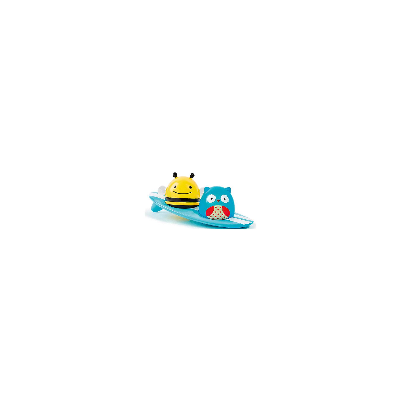SkipHop Игрушка для ванной Серферы, SkipHop игрушки интерактивные skiphop развивающая игрушка книжка