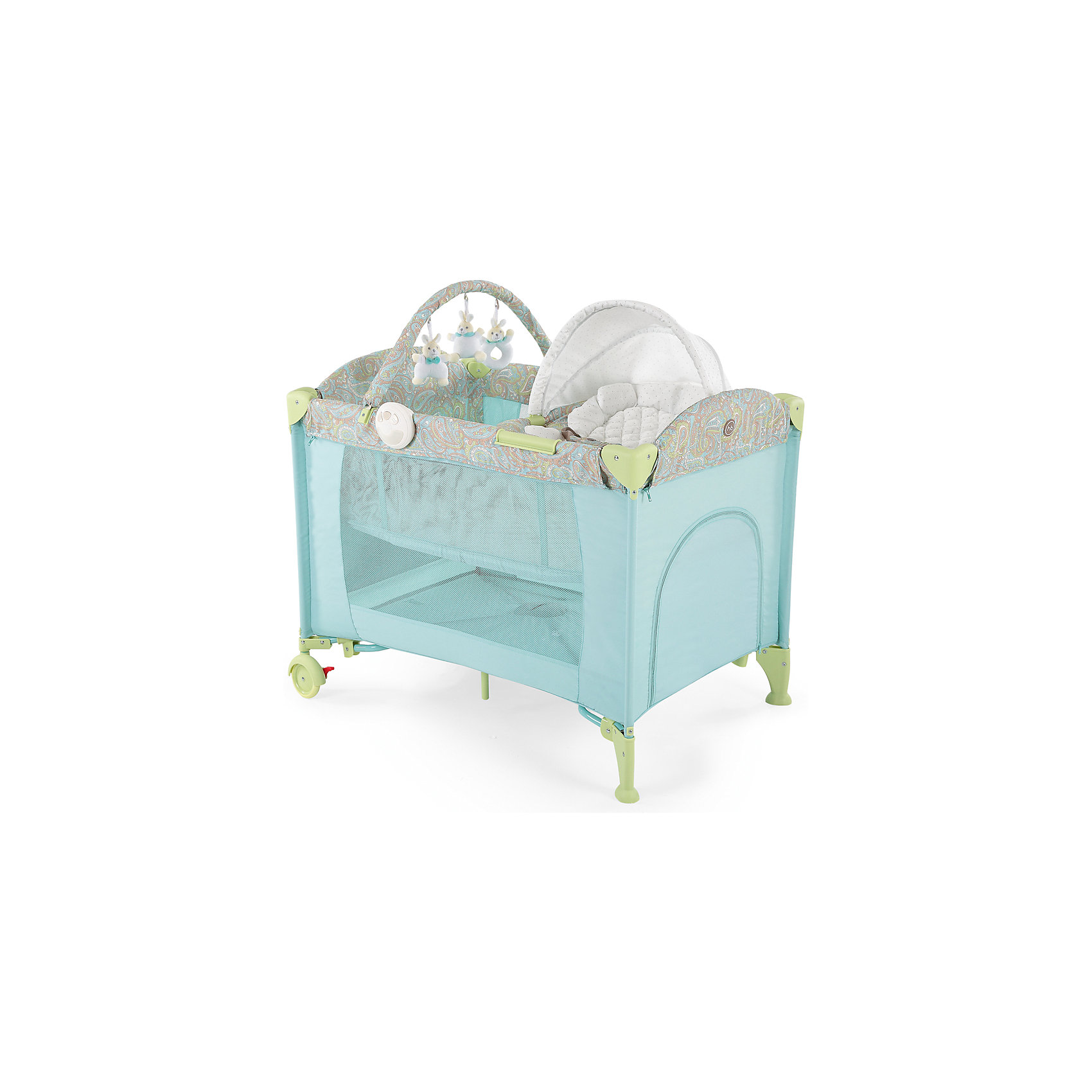 Кровать-манеж LAGOON V2, Happy Baby, голубойМанежи-кровати<br>Кровать-манеж LAGOON V2, Happy Baby, голубой.<br><br>Характеристики:<br><br>• можно использовать в качестве кроватки или шезлонга<br>• имеет второе дно для новорожденных малышей<br>• шезлонг можно использовать как качалку или как пеленальный столик<br>• есть дуга с игрушками <br>• съемные силиконовые полозья для укачивания малыша<br>• вход сбоку на молнии<br>• есть карман и москитная сетка<br>• шезлонг оснащен ремнями безопасности<br>• блок с подсветкой и вибрацией <br>• компактна в собранном виде<br>• материал: пластик, металл, полиэстер<br>• вес: 13,2 кг<br>• размер в разложенном виде: 110х80х85 см<br>• размер шезлонга: 73х47х34 см<br>• размер в собранном виде: 27х24х80 см<br>• цвет: голубой<br><br>Универсальная кровать-манеж lagoon v2 от известной марки Happy Baby можно использовать как манеж, кроватку или шезлонг. Манеж имеет второе дно для малышей. Шезлонг тоже можно использовать в двух вариантах: качалка и пеленальный столик. Для этого достаточно установить шезлонг на полозья, либо на бортики. Уберите второе дно - и манеж легко превратится из спального места в игровую площадку!  Кроме того, манеж имеет много приятных мелочей, которые облегчат жизнь родителей: дополнительный лаз на молнии, карман для полезных вещей, дуга с мягкими зайчиками и многое другое. Для вашего удобства манеж оснащен колесиками и очень компактен в собранном виде. Кровать-манеж lagoon v2 - лучший выбор заботливых родителей!<br><br>Кровать-манеж LAGOON V2, Happy Baby, голубой вы можете купить в нашем интернет-магазине.<br><br>Ширина мм: 270<br>Глубина мм: 270<br>Высота мм: 810<br>Вес г: 13830<br>Цвет: голубой<br>Возраст от месяцев: 0<br>Возраст до месяцев: 36<br>Пол: Унисекс<br>Возраст: Детский<br>SKU: 5148402