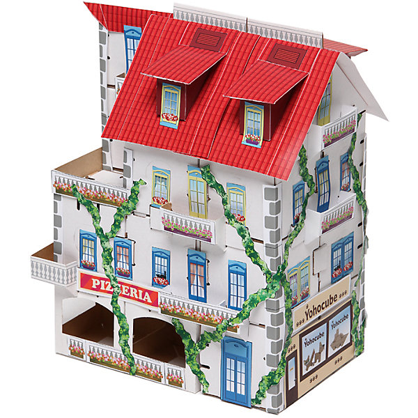 Набор Таун Хаус белый, серия Yoho City, YohocubeКартонные конструкторы<br>Набор Таун Хаус белый, серия Yoho City, Yohocube (Йохокуб). <br><br>Характеристика:<br><br>• Материал: усиленный картон (1,5 мм). <br>• Размер упаковки: 37х31х5,5 см. <br>• Размер одного кубика: 8 см. <br>• 19 деталей. <br>• В комплекте журнал с цветными вырубными деталями и стикерами. <br>• Яркий оригинальный дизайн. <br>• Развивает моторику рук, внимание, пространственное мышление и воображение. <br><br>С помощью этого набора ваш ребенок сможет почувствовать себя настоящим строителем и архитектором и собрать свой собственный роскошный дом. Все детали набора выполнены из прочного экологичного картона, они надежно и легко крепятся друг к другу, не рассыпаются и не мнутся. Прекрасный подарок на любой праздник! <br>Конструирование - отличный вид творческой деятельности, в процессе которого развивается внимание, моторика рук, пространственное мышление и воображение. <br><br>Набор Таун Хаус белый, серия Yoho City, Yohocube (Йохокуб) можно купить в нашем интернет-магазине.<br><br>Ширина мм: 370<br>Глубина мм: 310<br>Высота мм: 55<br>Вес г: 900<br>Возраст от месяцев: 72<br>Возраст до месяцев: 144<br>Пол: Унисекс<br>Возраст: Детский<br>SKU: 5154028