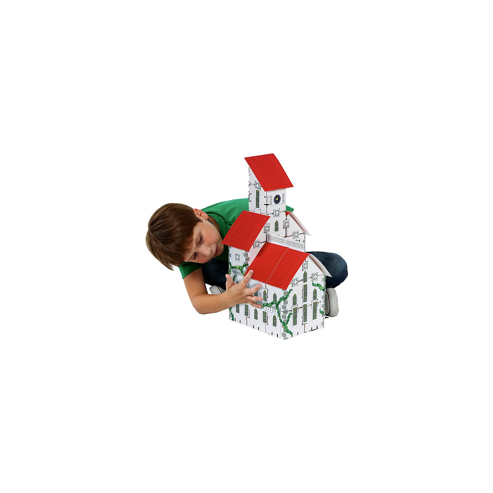 Набор Ратуша, серия Yoho City, YohocubeБренды конструкторов<br>Набор Ратуша, серия Yoho City, Yohocube (Йохокуб). <br><br>Характеристика:<br><br>• Материал: усиленный картон (1,5 мм). <br>• Размер упаковки: 37х31х5,5 см. <br>• Размер одного кубика: 8 см. <br>• 26 деталей. <br>• В комплекте журнал с цветными вырубными деталями и стикерами. <br>• Яркий оригинальный дизайн. <br>• Развивает моторику рук, внимание, пространственное мышление и воображение. <br><br>С помощью этого набора ваш ребенок сможет почувствовать себя настоящим строителем и архитектором и собрать красивую ратушу. Все детали набора выполнены из прочного экологичного картона, они надежно и легко крепятся друг к другу, не рассыпаются и не мнутся. Прекрасный подарок на любой праздник! <br>Конструирование - отличный вид творческой деятельности, в процессе которого развивается внимание, моторика рук, пространственное мышление и воображение. <br><br>Набор Ратуша, серия Yoho City, Yohocube (Йохокуб) можно купить в нашем интернет-магазине.<br><br>Ширина мм: 370<br>Глубина мм: 310<br>Высота мм: 55<br>Вес г: 1060<br>Возраст от месяцев: 72<br>Возраст до месяцев: 144<br>Пол: Унисекс<br>Возраст: Детский<br>SKU: 5154029