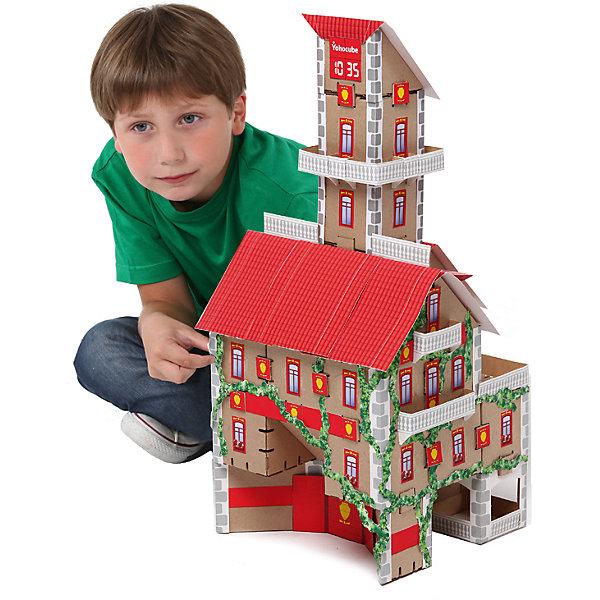 Набор Пожарная часть, серия Yoho City, YohocubeКартонные конструкторы<br>Набор Пожарная часть, серия Yoho City, Yohocube (Йохокуб). <br><br>Характеристика:<br><br>• Материал: усиленный картон (1,5 мм). <br>• Размер упаковки: 37х31х5,5 см. <br>• Размер одного кубика: 8 см. <br>• 30 деталей. <br>• Оригинальный дизайн. <br>• Развивает моторику рук, внимание, пространственное мышление и воображение. <br><br>С помощью этого оригинального конструктора ребенок сможет собрать пожарную часть. Размер кубиков идеально подходит для детских рук. Простые и удобные крепления позволят ребенку собирать конструктор без помощи взрослых. Все детали изготовлены из высококачественного прочного картона с применением нетоксичных безопасных красителей. Игры с конструктором полезное и очень увлекательное занятие, развивающее внимание, мелкую моторику, пространственное мышление и воображение. <br><br>Набор Пожарная часть, серия Yoho City, Yohocube (Йохокуб), можно купить в нашем интернет-магазине.<br><br>Ширина мм: 370<br>Глубина мм: 310<br>Высота мм: 55<br>Вес г: 1150<br>Возраст от месяцев: 72<br>Возраст до месяцев: 144<br>Пол: Унисекс<br>Возраст: Детский<br>SKU: 5154030