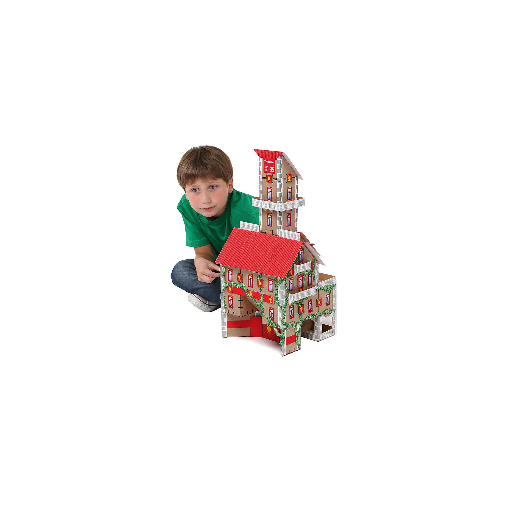 Набор Пожарная часть, серия Yoho City, YohocubeБренды конструкторов<br>Набор Пожарная часть, серия Yoho City, Yohocube (Йохокуб). <br><br>Характеристика:<br><br>• Материал: усиленный картон (1,5 мм). <br>• Размер упаковки: 37х31х5,5 см. <br>• Размер одного кубика: 8 см. <br>• 30 деталей. <br>• Оригинальный дизайн. <br>• Развивает моторику рук, внимание, пространственное мышление и воображение. <br><br>С помощью этого оригинального конструктора ребенок сможет собрать пожарную часть. Размер кубиков идеально подходит для детских рук. Простые и удобные крепления позволят ребенку собирать конструктор без помощи взрослых. Все детали изготовлены из высококачественного прочного картона с применением нетоксичных безопасных красителей. Игры с конструктором полезное и очень увлекательное занятие, развивающее внимание, мелкую моторику, пространственное мышление и воображение. <br><br>Набор Пожарная часть, серия Yoho City, Yohocube (Йохокуб), можно купить в нашем интернет-магазине.<br><br>Ширина мм: 370<br>Глубина мм: 310<br>Высота мм: 55<br>Вес г: 1150<br>Возраст от месяцев: 72<br>Возраст до месяцев: 144<br>Пол: Унисекс<br>Возраст: Детский<br>SKU: 5154030