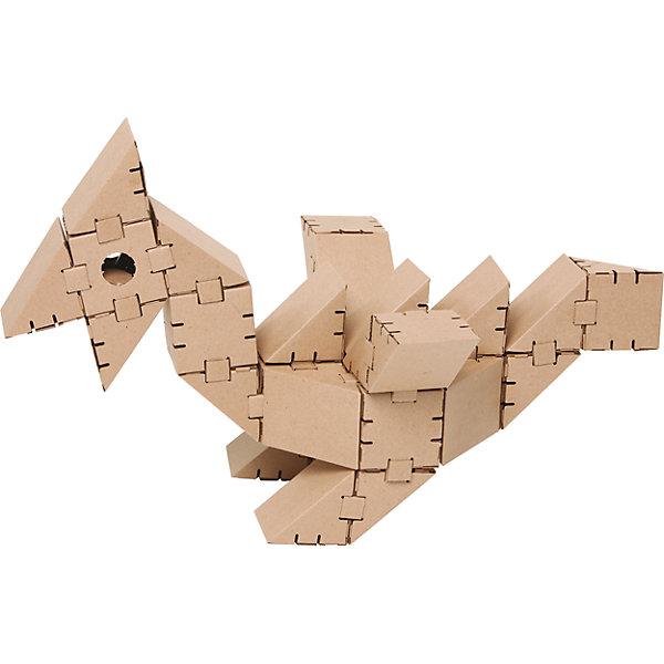 Картонный конструктор Динозавр Птеро, YohocubeКартонные конструкторы<br>Картонный конструктор Динозавр Птеро, Yohocube (Йохокуб).<br><br>Характеристика:<br><br>• Материал: усиленный картон (1,5 мм). <br>• Размер упаковки: 37х31х5,5 см. <br>• Размер одного кубика: 8 см. <br>• 30 деталей. <br>• Развивает моторику рук, внимание, пространственное мышление и воображение. <br>• Картонную фигурку можно раскрасить.<br> <br>С помощью этого набора ребенок сможет собрать своего собственного ручного динозавра! Все детали выполнены из прочного экологичного картона, они надежно и легко крепятся друг к другу, не рассыпаются и не мнутся. Прекрасный подарок на любой праздник! <br>Конструирование - отличный вид творческой деятельности, в процессе которого развивается внимание, моторика рук, пространственное мышление и воображение. <br><br>Картонный конструктор Динозавр Птеро, Yohocube (Йохокуб), можно купить в нашем магазине.<br>Ширина мм: 370; Глубина мм: 310; Высота мм: 55; Вес г: 800; Возраст от месяцев: 72; Возраст до месяцев: 144; Пол: Унисекс; Возраст: Детский; SKU: 5154031;