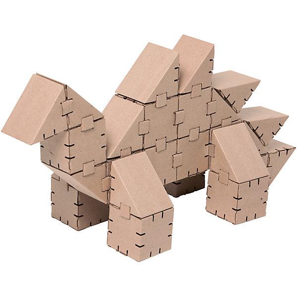 Картонный конструктор Динозавр Стего, YohocubeКартонные конструкторы<br>Картонный конструктор Динозавр Стего, Yohocube (Йохокуб).<br><br>Характеристика:<br><br>• Материал: усиленный картон (1,5 мм). <br>• Размер упаковки: 37х31х5,5 см. <br>• Размер одного кубика: 8 см. <br>• 27 деталей. <br>• Развивает моторику рук, внимание, пространственное мышление и воображение. <br>• Картонную фигурку можно раскрасить.<br><br>С помощью этого набора ребенок сможет собрать своего собственного ручного динозавра! Все детали выполнены из прочного экологичного картона, они надежно и легко крепятся друг к другу, не рассыпаются и не мнутся. Прекрасный подарок на любой праздник! <br>Конструирование - отличный вид творческой деятельности, в процессе которого развивается внимание, моторика рук, пространственное мышление и воображение. <br><br>Картонный конструктор Динозавр Стего, Yohocube (Йохокуб), можно купить в нашем магазине.<br>Ширина мм: 370; Глубина мм: 310; Высота мм: 55; Вес г: 760; Возраст от месяцев: 72; Возраст до месяцев: 144; Пол: Унисекс; Возраст: Детский; SKU: 5154032;