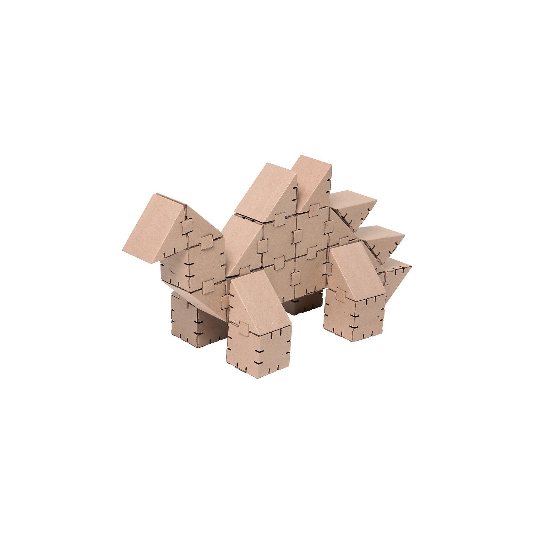 Картонный конструктор Динозавр Стего, YohocubeКартонный конструктор Динозавр Стего, Yohocube (Йохокуб).<br><br>Характеристика:<br><br>• Материал: усиленный картон (1,5 мм). <br>• Размер упаковки: 37х31х5,5 см. <br>• Размер одного кубика: 8 см. <br>• 27 деталей. <br>• Развивает моторику рук, внимание, пространственное мышление и воображение. <br>• Картонную фигурку можно раскрасить.<br><br>С помощью этого набора ребенок сможет собрать своего собственного ручного динозавра! Все детали выполнены из прочного экологичного картона, они надежно и легко крепятся друг к другу, не рассыпаются и не мнутся. Прекрасный подарок на любой праздник! <br>Конструирование - отличный вид творческой деятельности, в процессе которого развивается внимание, моторика рук, пространственное мышление и воображение. <br><br>Картонный конструктор Динозавр Стего, Yohocube (Йохокуб), можно купить в нашем магазине.<br><br>Ширина мм: 370<br>Глубина мм: 310<br>Высота мм: 55<br>Вес г: 760<br>Возраст от месяцев: 72<br>Возраст до месяцев: 144<br>Пол: Унисекс<br>Возраст: Детский<br>SKU: 5154032