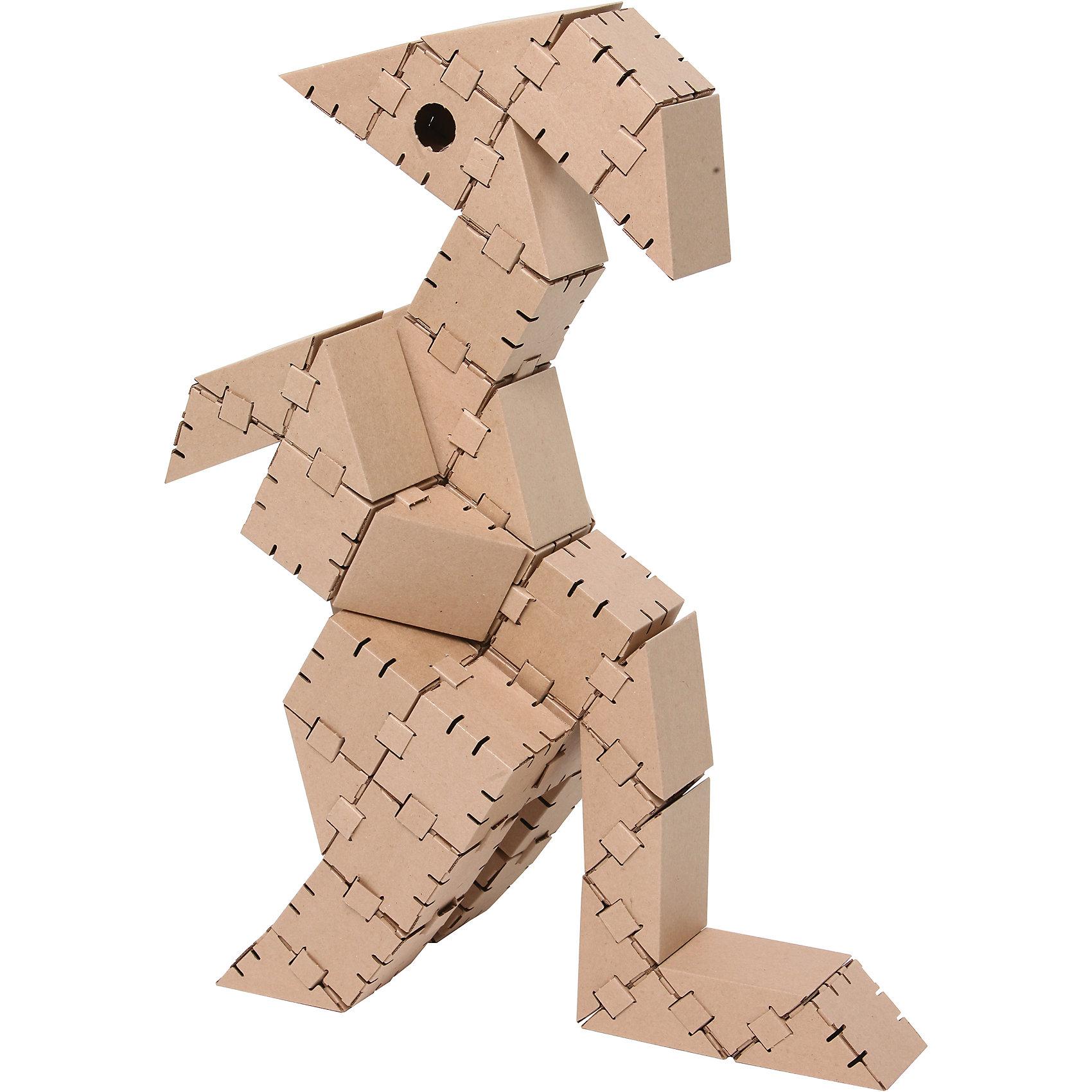 Картонный конструктор Динозавр Игу, YohocubeБренды конструкторов<br>Картонный конструктор Динозавр Игу, Yohocube (Йохокуб).<br><br>Характеристика:<br><br>• Материал: усиленный картон (1,5 мм). <br>• Размер упаковки: 37х31х5,5 см. <br>• Размер одного кубика: 8 см. <br>• 44 деталей. <br>• Развивает моторику рук, внимание, пространственное мышление и воображение. <br>• Картонную фигурку можно раскрасить.<br><br>С помощью этого набора ребенок сможет собрать своего собственного ручного динозавра! Все детали выполнены из прочного экологичного картона, они надежно и легко крепятся друг к другу, не рассыпаются и не мнутся. Прекрасный подарок на любой праздник! <br>Конструирование - отличный вид творческой деятельности, в процессе которого развивается внимание, моторика рук, пространственное мышление и воображение. <br><br>Картонный конструктор Динозавр Игу, Yohocube (Йохокуб), можно купить в нашем магазине.<br><br>Ширина мм: 460<br>Глубина мм: 360<br>Высота мм: 60<br>Вес г: 1170<br>Возраст от месяцев: 72<br>Возраст до месяцев: 144<br>Пол: Унисекс<br>Возраст: Детский<br>SKU: 5154033