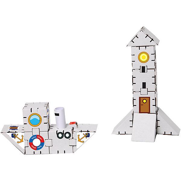 Картонный конструктор Порт, YohocubeКартонные конструкторы<br>Картонный конструктор Порт, Yohocube (Йохокуб). <br><br>Характеристика:<br><br>• Материал: усиленный картон (1,5 мм). <br>• Размер упаковки: 37х31х5,5 см. <br>• Размер одного кубика: 8 см. <br>• 14 деталей. <br>• Оригинальный дизайн. <br>• Развивает моторику рук, внимание, пространственное мышление и воображение. <br><br>С помощью этого оригинального конструктора ребенок сможет собрать маяк и корабль. Размер кубиков идеально подходит для детских рук. Простые и удобные крепления позволят ребенку собирать конструктор без помощи взрослых. Все детали изготовлены из высококачественного прочного картона с применением нетоксичных безопасных красителей. Игры с конструктором полезное и очень увлекательное занятие, развивающее внимание, мелкую моторику, пространственное мышление и воображение. <br><br>Картонный конструктор Порт, Yohocube (Йохокуб), можно купить в нашем интернет-магазине.<br><br>Ширина мм: 370<br>Глубина мм: 310<br>Высота мм: 55<br>Вес г: 500<br>Возраст от месяцев: 72<br>Возраст до месяцев: 144<br>Пол: Унисекс<br>Возраст: Детский<br>SKU: 5154034