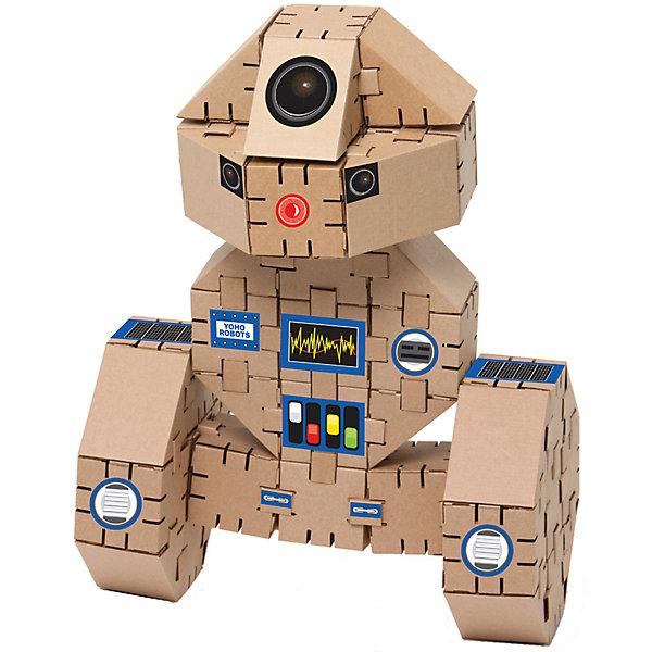Картонный конструктор Йохобот крафт, YohocubeКартонные конструкторы<br>Картонный конструктор Йохобот крафт, Yohocube (Йохокуб).<br><br>Характеристика:<br><br>• Материал: усиленный картон (1,5 мм). <br>• Размер упаковки: 37х31х5,5 см. <br>• Размер одного кубика: 8 см. <br>• 44 деталей. <br>• Развивает моторику рук, внимание, пространственное мышление и воображение. <br><br>С помощью этого набора ребенок сможет самостоятельно собрать настоящего робота! Все детали выполнены из прочного экологичного картона, они надежно и легко крепятся друг к другу, не рассыпаются и не мнутся. Прекрасный подарок на любой праздник! <br>Конструирование - отличный вид творческой деятельности, в процессе которого развивается внимание, моторика рук, пространственное мышление и воображение. <br><br>Картонный конструктор Йохобот крафт, Yohocube (Йохокуб), можно купить в нашем магазине.<br><br>Ширина мм: 460<br>Глубина мм: 360<br>Высота мм: 60<br>Вес г: 1170<br>Возраст от месяцев: 72<br>Возраст до месяцев: 144<br>Пол: Унисекс<br>Возраст: Детский<br>SKU: 5154038
