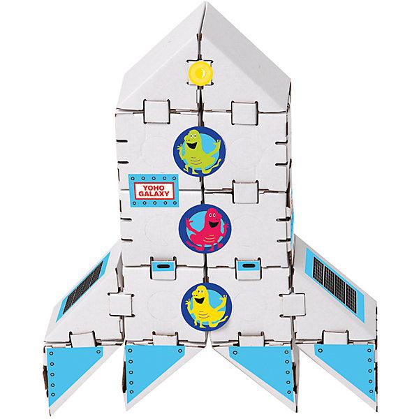 Картонный конструктор Ракета на Марс, YohocubeКартонные конструкторы<br>Картонный конструктор Ракета на Марс, Yohocube (Йохокуб). <br><br>Характеристика:<br><br>• Материал: усиленный картон (1,5 мм). <br>• Размер упаковки: 37х31х5,5 см. <br>• Размер одного кубика: 8 см. <br>• 14 деталей. <br>• Оригинальный дизайн. <br>• Развивает моторику рук, внимание, пространственное мышление и воображение. <br><br>С помощью этого оригинального конструктора ребенок сможет собрать ракету. Размер кубиков идеально подходит для детских рук. Простые и удобные крепления позволят ребенку собирать конструктор без помощи взрослых. Все детали изготовлены из высококачественного прочного картона с применением нетоксичных безопасных красителей. Игры с конструктором полезное и очень увлекательное занятие, развивающее внимание, мелкую моторику, пространственное мышление и воображение. <br><br>Картонный конструктор Ракета на Марс Yohocube (Йохокуб), можно купить в нашем интернет-магазине.<br>Ширина мм: 370; Глубина мм: 310; Высота мм: 55; Вес г: 500; Возраст от месяцев: 72; Возраст до месяцев: 144; Пол: Унисекс; Возраст: Детский; SKU: 5154039;