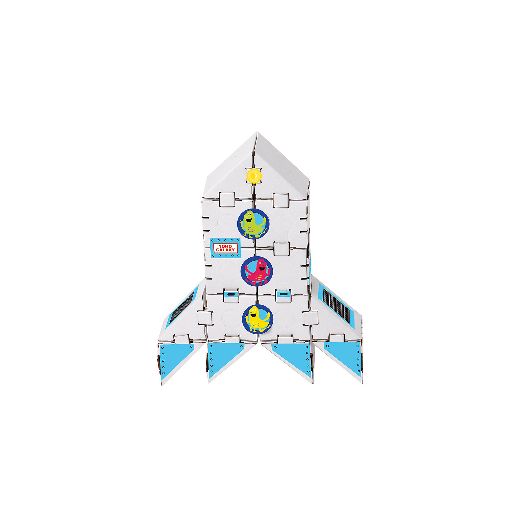 Yohocube Картонный конструктор Ракета на Марс, Yohocube