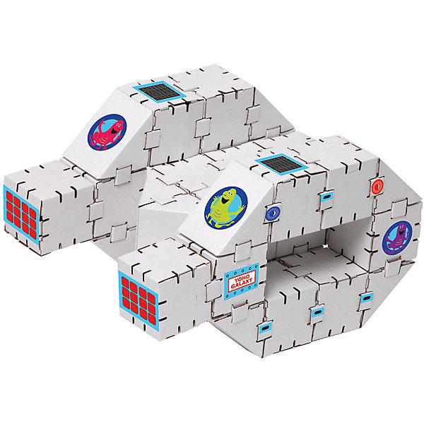 Картонный конструктор Звездолет, YohocubeКартонные конструкторы<br>Картонный конструктор Звездолет, Yohocube (Йохокуб). <br><br>Характеристика:<br><br>• Материал: усиленный картон (1,5 мм). <br>• Размер упаковки: 37х31х5,5 см. <br>• Размер одного кубика: 8 см. <br>• 34 детали. <br>• Оригинальный дизайн. <br>• Развивает моторику рук, внимание, пространственное мышление и воображение. <br><br>С помощью этого набора ваш ребенок сможет собрать настоящий звездолет. Все детали набора выполнены из прочного экологичного картона, они надежно и легко крепятся друг к другу, не рассыпаются и не мнутся. Прекрасный подарок на любой праздник! <br>Конструирование - отличный вид творческой деятельности, в процессе которого развивается внимание, моторика рук, пространственное мышление и воображение. <br><br>Картонный конструктор Звездолет, Yohocube (Йохокуб) можно купить в нашем интернет-магазине.<br>Ширина мм: 460; Глубина мм: 360; Высота мм: 60; Вес г: 960; Возраст от месяцев: 72; Возраст до месяцев: 144; Пол: Унисекс; Возраст: Детский; SKU: 5154040;