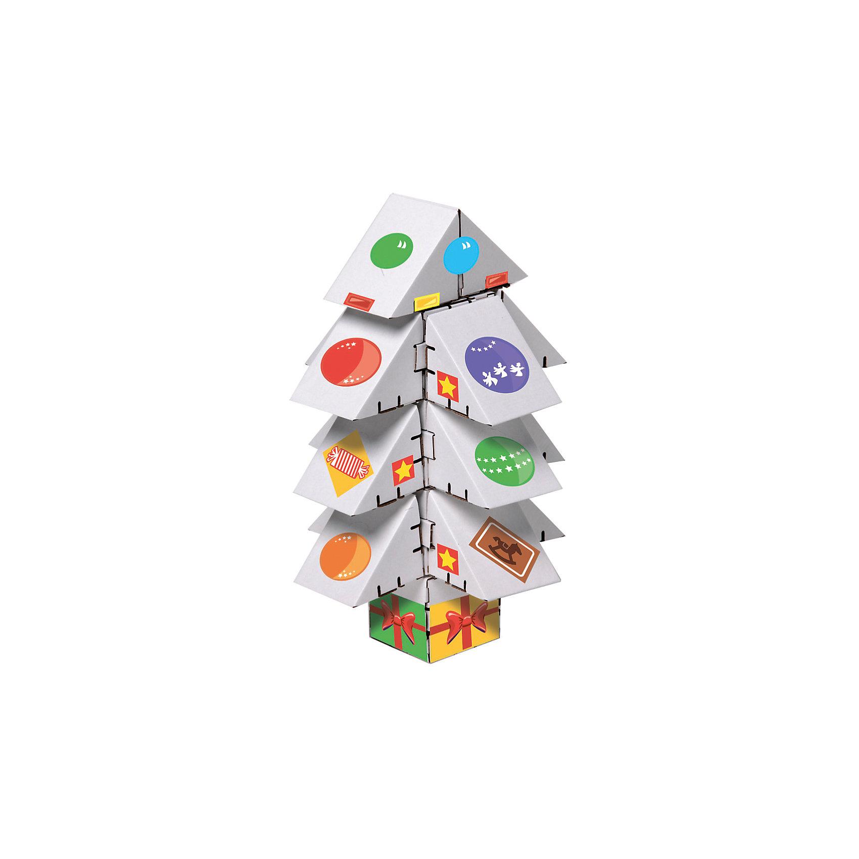 Картонный конструктор Ёлка мини белая, YohocubeБренды конструкторов<br>Картонный конструктор Ёлка мини белая, Yohocube (Йохокуб). <br><br>Характеристика:<br><br>• Материал: усиленный картон (1,5 мм). <br>• Размер упаковки: 37х31х5,5 см. <br>• Размер одного кубика: 8 см. <br>• 18 детали. <br>• Оригинальный дизайн. <br>• Развивает моторику рук, внимание, пространственное мышление и воображение. <br><br>Яркая оригинальная ёлочка, сделанная своими руками, обязательно понравится детям. Все детали набора выполнены из прочного экологичного картона, они надежно и легко крепятся друг к другу, не рассыпаются и не мнутся. Прекрасный подарок на любой праздник! <br>Конструирование - отличный вид творческой деятельности, в процессе которого развивается внимание, моторика рук, пространственное мышление и воображение. <br><br>Картонный конструктор Ёлка мини белая, Yohocube (Йохокуб) можно купить в нашем интернет-магазине.<br><br>Ширина мм: 370<br>Глубина мм: 310<br>Высота мм: 55<br>Вес г: 580<br>Возраст от месяцев: 72<br>Возраст до месяцев: 144<br>Пол: Унисекс<br>Возраст: Детский<br>SKU: 5154043