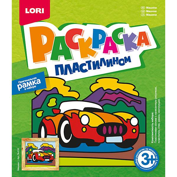 Раскраска пластилином МашинаНаборы для лепки<br>Характеристики раскраски пластилином Машина:<br><br>- возраст: от 3 лет<br>- пол: для мальчиков<br>- комплект: основа, пластилин, рамка, стек, инструкция.<br>- размер упаковки: 20 * 4 * 23 см.<br>- упаковка: картонная коробка.<br>- страна обладатель бренда: Россия.<br><br>Раскраска пластилином Машина поможет сделать живописную картину из пластилина, изображающую яркую машинку с открытым верхом. В наборе есть основа, на которую нанесен контур будущей картины. Нужно просто равномерно заполнить пустые участки слоем пластилина, а потом сверху добавить мелкие пластилиновые детали. Неровные края участков можно поправлять с помощью стека. При работе с более мелкими деталями ребенку может понадобиться Ваша помощь.<br>В наборе есть рамка, в которую можно вставить полученный шедевр!<br><br>Раскраску пластилином Машина можно купить в нашем интернет-магазине.<br>Ширина мм: 230; Глубина мм: 200; Высота мм: 40; Вес г: 277; Возраст от месяцев: 36; Возраст до месяцев: 84; Пол: Мужской; Возраст: Детский; SKU: 5154902;