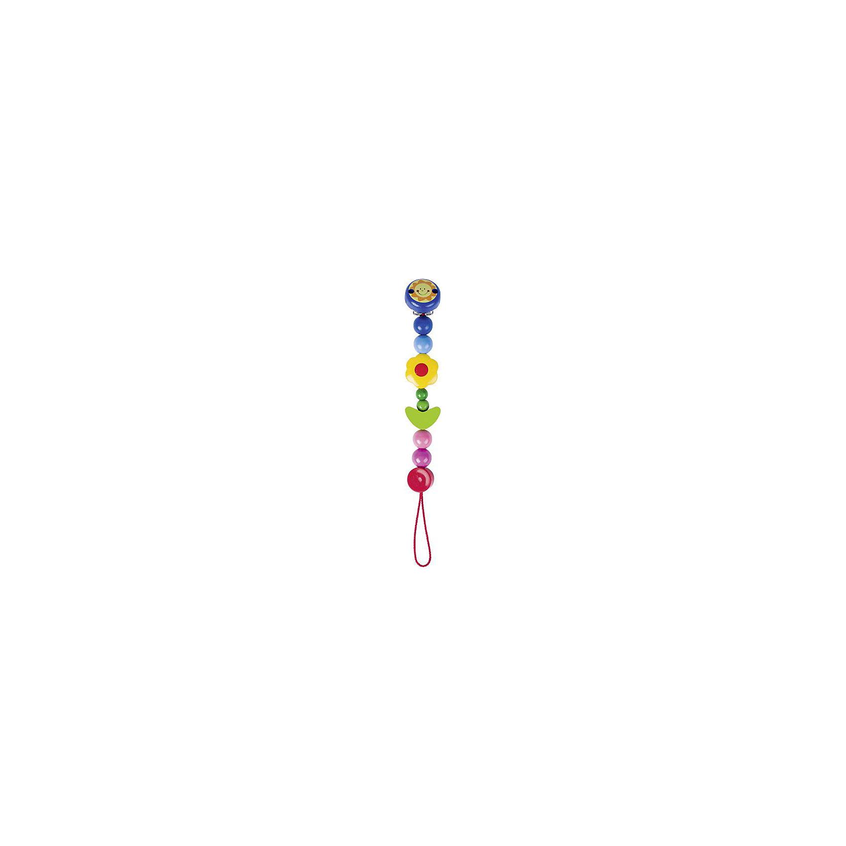 Держатель с клипсой Цветок, HEIMESSПогремушки<br>Характеристики товара:<br><br>- цвет: разноцветный;<br>- материал: дерево;<br>- размер упаковки: 21 x 2 x 21 см;<br>- длина: 21 см;<br>- вес: 73 г.<br><br>Детский яркий держатель для соски – отличный подарок для родителей и ребенка. В процессе игры с ней ребенок развивает моторику, тактильное восприятие, воображение, внимание и координацию движений. Игрушка придумана для того, чтобы к ней можно было прикрепить соску. Держатель можно кусать - он сделан из безопасного дерева. Он разработан специально для маленьких ручек ребёнка. <br>Такая игрушка позволит малышу с детства развивать цветовосприятие, также она помогает детям научиться фокусировать внимание. Изделие произведено из качественных материалов, безопасных для ребенка.<br><br>Держатель с клипсой Цветок от бренда HEIMESS можно купить в нашем интернет-магазине.<br><br>Ширина мм: 210<br>Глубина мм: 20<br>Высота мм: 210<br>Вес г: 73<br>Возраст от месяцев: 3<br>Возраст до месяцев: 24<br>Пол: Женский<br>Возраст: Детский<br>SKU: 5155294