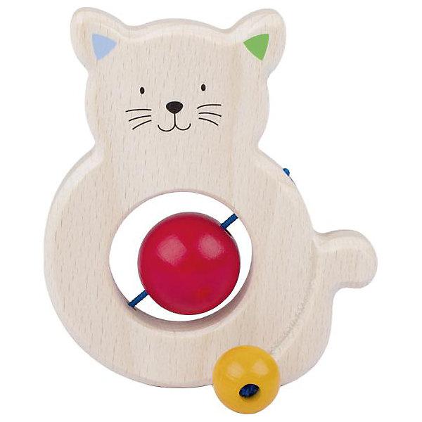 Игрушка Котик с бусинками, HEIMESSИгрушки для новорожденных<br>Характеристики товара:<br><br>- цвет: разноцветный;<br>- материал: дерево;<br>- размер упаковки: 10 x 10 x 10 см;<br>- вес: 50 г.<br><br>Детская красивая игрушка – отличный подарок для родителей и ребенка. В процессе игры с ней ребенок развивает моторику, тактильное восприятие, воображение, внимание и координацию движений. Игрушка тщательно обработана, её можно кусать - она сделана из безопасного дерева. Игрушка разработана специально для маленьких ручек ребёнка. <br>Такая игрушка позволит малышу с детства развивать цветовосприятие, также она помогает детям научиться фокусировать внимание. Изделие произведено из качественных материалов, безопасных для ребенка.<br><br>Игрушку Котик с бусинками от бренда HEIMESS можно купить в нашем интернет-магазине.<br>Ширина мм: 100; Глубина мм: 100; Высота мм: 100; Вес г: 50; Возраст от месяцев: 3; Возраст до месяцев: 24; Пол: Унисекс; Возраст: Детский; SKU: 5155297;