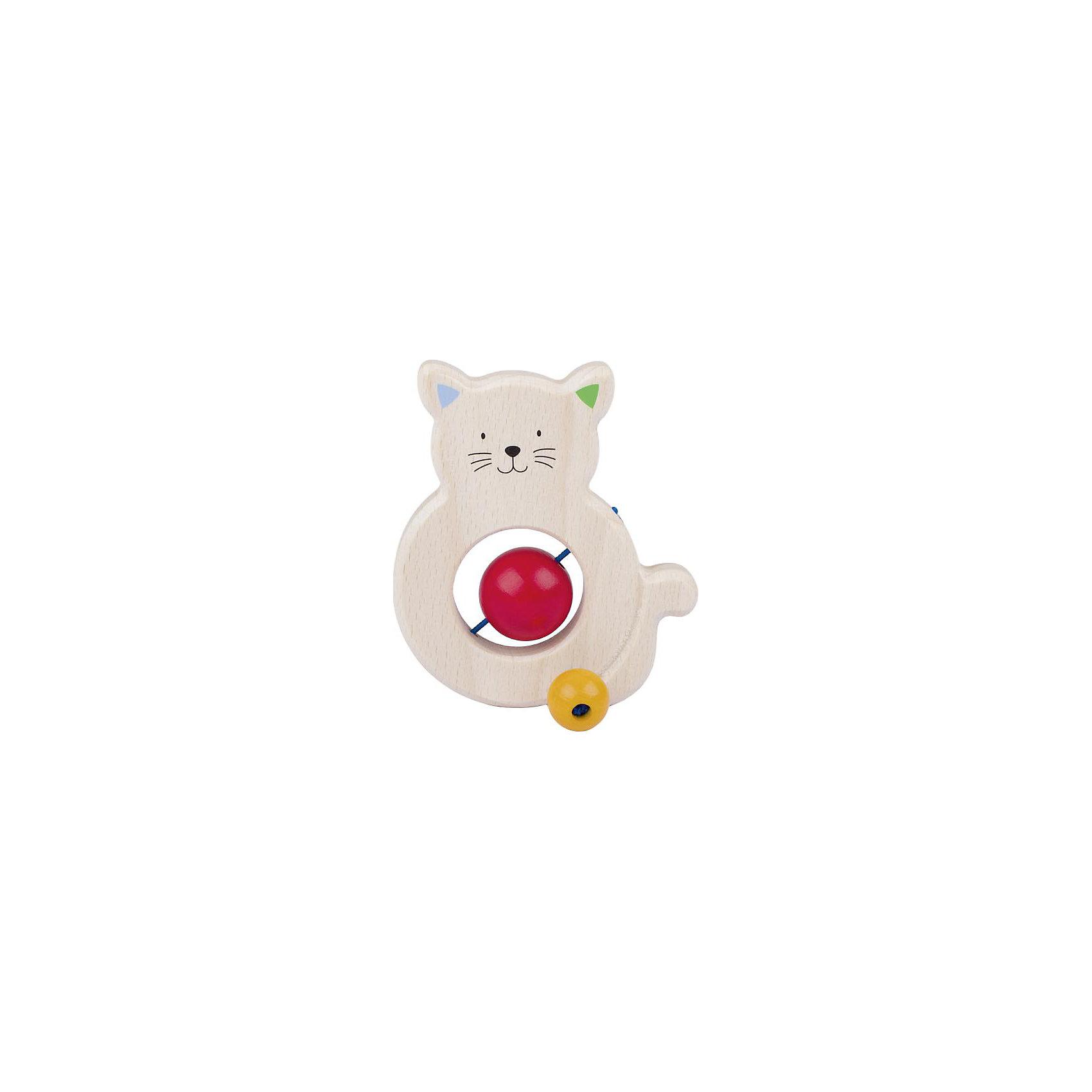 Игрушка Котик с бусинками, HEIMESSПрорезыватели<br>Характеристики товара:<br><br>- цвет: разноцветный;<br>- материал: дерево;<br>- размер упаковки: 10 x 10 x 10 см;<br>- вес: 50 г.<br><br>Детская красивая игрушка – отличный подарок для родителей и ребенка. В процессе игры с ней ребенок развивает моторику, тактильное восприятие, воображение, внимание и координацию движений. Игрушка тщательно обработана, её можно кусать - она сделана из безопасного дерева. Игрушка разработана специально для маленьких ручек ребёнка. <br>Такая игрушка позволит малышу с детства развивать цветовосприятие, также она помогает детям научиться фокусировать внимание. Изделие произведено из качественных материалов, безопасных для ребенка.<br><br>Игрушку Котик с бусинками от бренда HEIMESS можно купить в нашем интернет-магазине.<br><br>Ширина мм: 100<br>Глубина мм: 100<br>Высота мм: 100<br>Вес г: 50<br>Возраст от месяцев: 3<br>Возраст до месяцев: 24<br>Пол: Унисекс<br>Возраст: Детский<br>SKU: 5155297