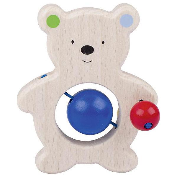 Игрушка Медвежонок с бусинками, HEIMESSИгрушки для новорожденных<br>Характеристики товара:<br><br>- цвет: разноцветный;<br>- материал: дерево;<br>- размер упаковки: 10 x 10 x 10 см;<br>- вес: 50 г.<br><br>Детская красивая игрушка – отличный подарок для родителей и ребенка. В процессе игры с ней ребенок развивает моторику, тактильное восприятие, воображение, внимание и координацию движений. Игрушка тщательно обработана, её можно кусать - она сделана из безопасного дерева. Игрушка разработана специально для маленьких ручек ребёнка. <br>Такая игрушка позволит малышу с детства развивать цветовосприятие, также она помогает детям научиться фокусировать внимание. Изделие произведено из качественных материалов, безопасных для ребенка.<br><br>Игрушку Медвежонок с бусинками от бренда HEIMESS можно купить в нашем интернет-магазине.<br>Ширина мм: 100; Глубина мм: 100; Высота мм: 100; Вес г: 50; Возраст от месяцев: 3; Возраст до месяцев: 24; Пол: Унисекс; Возраст: Детский; SKU: 5155298;