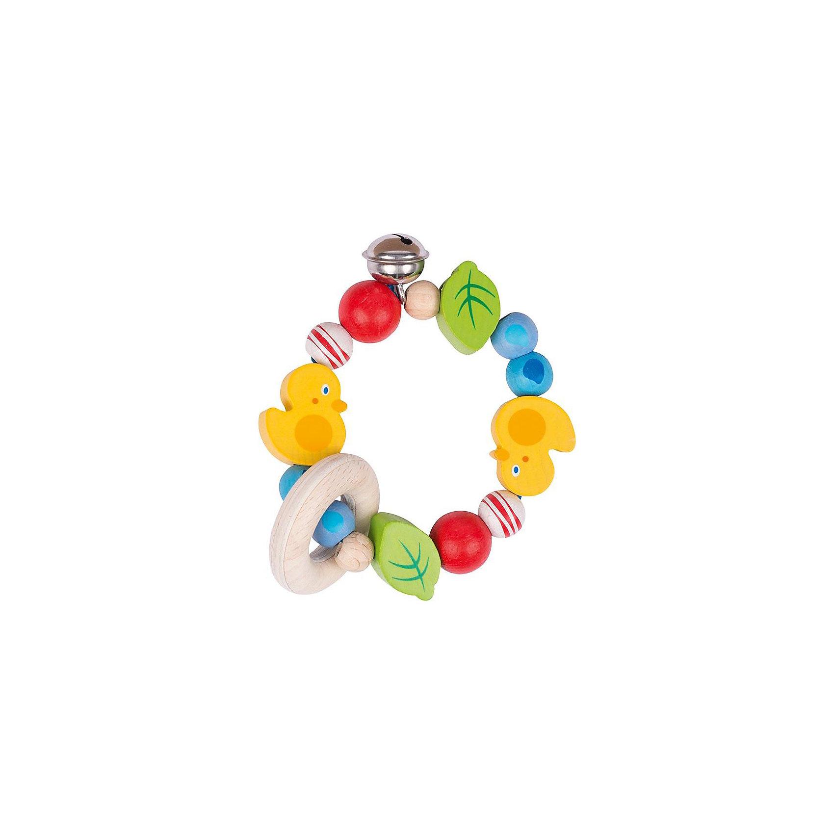 Игрушка-кольцо эластик Уточки, HEIMESSПрорезыватели<br>Характеристики товара:<br><br>- цвет: разноцветный;<br>- материал: эластик;<br>- размер упаковки: 8x8x8 см;<br>- вес: 50 г.<br><br>Детская красивая игрушка – отличный подарок для родителей и ребенка. В процессе игры с ней ребенок развивает моторику, тактильное восприятие, воображение, внимание и координацию движений. Игрушка тщательно обработана, её можно кусать - она сделана из безопасного материала. Игрушка разработана специально для маленьких ручек ребёнка. <br>Такая игрушка позволит малышу с детства развивать цветовосприятие, также она помогает детям научиться фокусировать внимание. Изделие произведено из качественных материалов, безопасных для ребенка.<br><br>Игрушку-кольцо эластик Уточки от бренда HEIMESS можно купить в нашем интернет-магазине.<br><br>Ширина мм: 80<br>Глубина мм: 80<br>Высота мм: 80<br>Вес г: 56<br>Возраст от месяцев: 3<br>Возраст до месяцев: 24<br>Пол: Унисекс<br>Возраст: Детский<br>SKU: 5155299