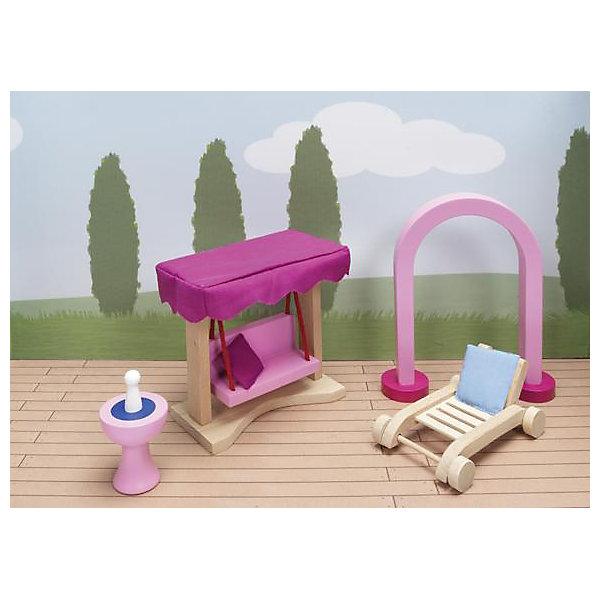 Мебель кукольная садовая (дворец), gokiМебель для кукол<br>Характеристики товара:<br><br>- цвет: разноцветный;<br>- материал: дерево;<br>- возраст: от трех лет;<br>- комплектация: 66 предметов.<br><br>Этот симпатичный набор из множества предметов, необходимых в кукольном саду, приводит детей в восторг! Какая девочка сможет отказаться поиграть с куклами, которые имеют садовую мебель, так похожую на настоящую?! В набор входят самые необходимые для обустройства зоны отдыха у дома вещи. Игрушки очень качественно выполнены, поэтому набор станет замечательным подарком ребенку. <br>Продается набор в красивой удобной упаковке. Игры с куклами помогают девочкам развить важные навыки и отработать модели социального взаимодействия. Изделие произведено из высококачественного материала, безопасного для детей.<br><br>Мебель кукольную садовую (дворец) от германского бренда GOKI можно купить в нашем интернет-магазине.<br><br>Ширина мм: 123<br>Глубина мм: 123<br>Высота мм: 123<br>Вес г: 450<br>Возраст от месяцев: 36<br>Возраст до месяцев: 144<br>Пол: Женский<br>Возраст: Детский<br>SKU: 5155320