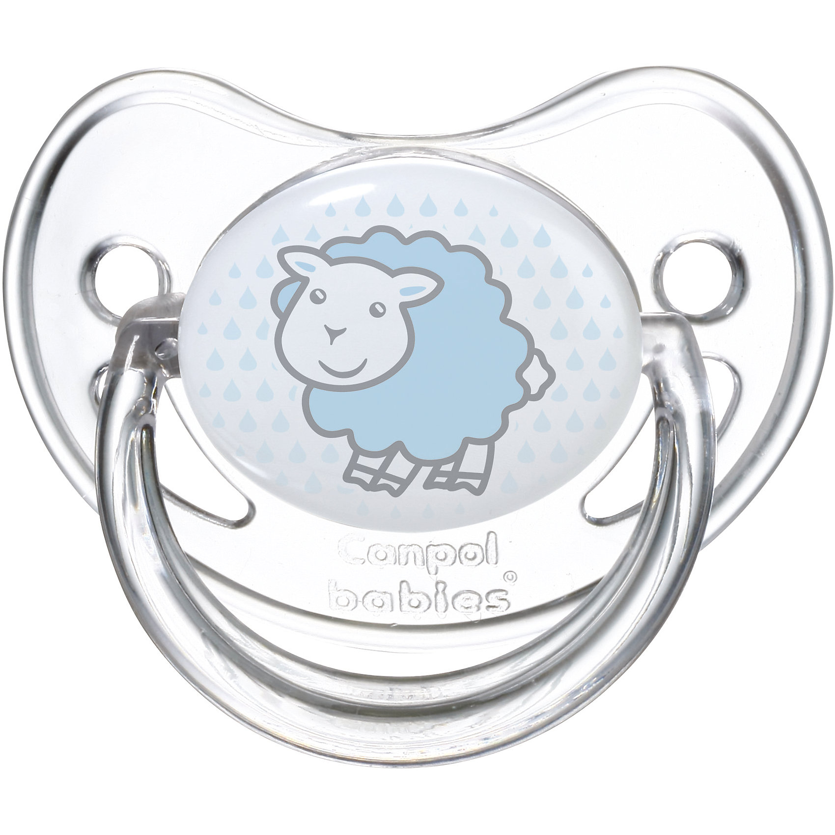 Пустышка анатомическая силиконовая, 6-18 Transparent, Canpol Babies, овечкаПустышки и аксессуары<br>Характеристики:<br><br>• Наименование: пустышка<br>• Пол: для мальчика<br>• Материал: силикон, пластик<br>• Цвет: белый, голубой<br>• Форма: анатомическая<br>• Наличие отверстий для вентиляции<br>• Наличие кольца для держателя<br>• Особенности ухода: регулярная стерилизация и своевременная замена<br><br>Пустышка анатомическая силиконовая, 6-18 Transparent, Canpol Babies, овечка имеет специальную форму, которая обеспечивает правильное давление на небо. Изготовлена из запатентованного вида силикона, который не имеет запаха. При правильном уходе обеспечивает длительное использование. У соски имеется ограничитель из прозрачного пластика, который учитывает анатомические особенности детского личика, и кольцо для держателя. Пустышка анатомическая силиконовая, 6-18 Transparent, Canpol Babies, овечка выполнена в стильном дизайне с изображением милой овечки.<br><br>Пустышку анатомическую силиконовую, 6-18 Transparent, Canpol Babies, овечку можно купить в нашем интернет-магазине.<br><br>Ширина мм: 95<br>Глубина мм: 45<br>Высота мм: 155<br>Вес г: 110<br>Возраст от месяцев: 6<br>Возраст до месяцев: 18<br>Пол: Мужской<br>Возраст: Детский<br>SKU: 5156628